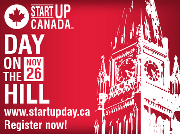 Startup Canada Day on the Hill