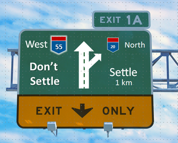 "The ""Settle"" versus ""Don't Settle"" Debate"